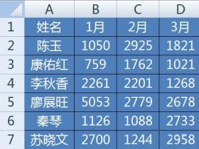 Excel如何制作鼠标点选逐个显示系列数据的动态图表