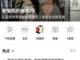 搜狐视频去广告/去推荐/去后台清爽版