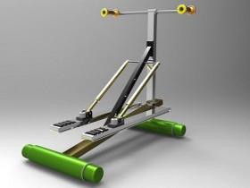 ProE 5.0跑步机模型下载(含源文件)