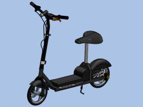 电动车代步模型下载(含源文件)