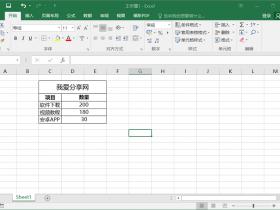 Excel中如何去除网格线