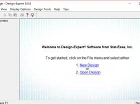 Design Expert 8.0免安装版便携版下载|兼容WIN10
