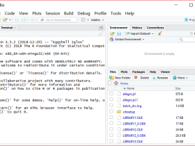 R语言RStudio 32/64位下载|兼容WIN10