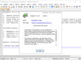 Notepad++ 7.5.8中文版32/64位下载|兼容WIN10
