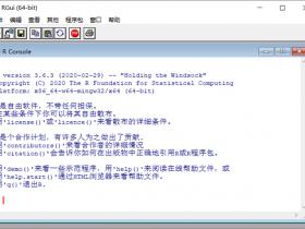 R语言R-3.6.3中文版32/64位下载|兼容WIN10