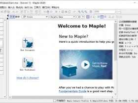 Maple 2020中文破解版64位下载|兼容WIN10