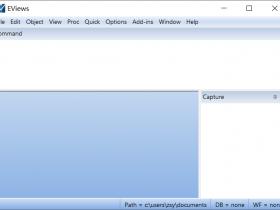 EViews 9.0破解版32/64位下载|兼容WIN10